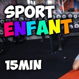 Sport pour enfants à la maison en 15minutes !